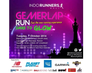 "GEMERLAP RUN "" DARE TO GLOW """