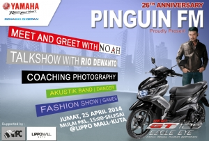 Celebration of 26 Years Anniversary Radio Pinguin