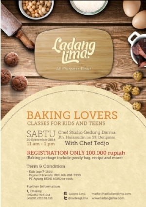 Baking Lovers Classes for Kid & Teen