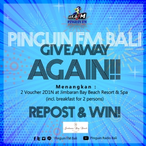 GIVEAWAY AGUSTUS