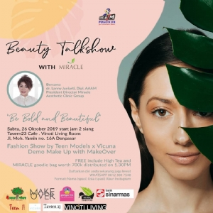 Beauty Talkshow Pinguin FM x Miracle Aesthetic Clinic