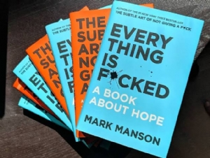 [BOOK REVIEW] Everything is F*cked: A Book About Hope by Mark Manson