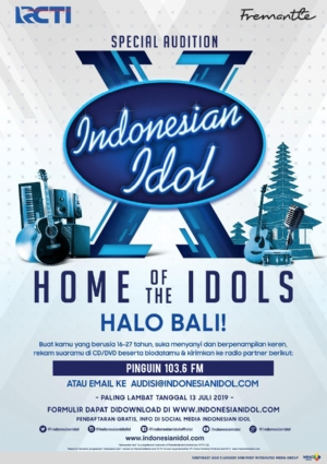 Indonesian Idol Special Audition in Bali